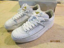 online store e4c75 93cf0 Details about Nike Air Jordan 2 Retro Low 309837-102 White/Yellow, Men's  Size 12