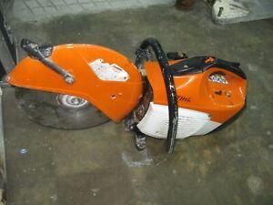 """STIHL TS 420 14"""" CONCRETE CUT OFF SAW  BLADE & WATER KIT"""