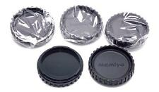 5 Camera Body Caps for Mamiya M645 645 NEW