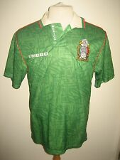 Mexico home 1994 football shirt soccer jersey trikot camiseta futbol size M