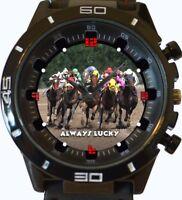 Jockey Horse Racing New Gt Series Sports Unisex Gift Wrist Watch UK SELLER