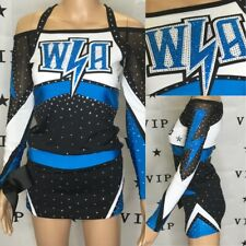 "Real Cheerleading Uniform  All Stars  Top32""-34""Skirt 28"""