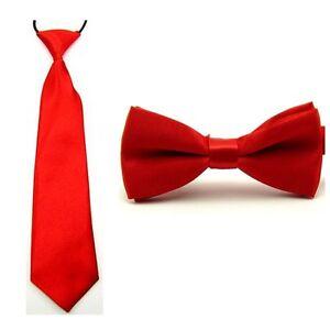 Kids Baby Boy Bow Tie Necktie School Wedding Party Bowtie Ties Matching Set