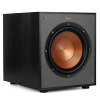 "Klipsch R-100SW 10"" Subwoofer (Black Brushed Vinyl)"