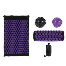 Lixada Acupressure Pillow and Mat  Set for Back/Neck/Feet Pain 2X Massage Balls
