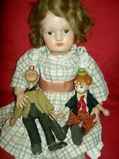 "Antique 20"", fully jointed, Schoenhut wood doll, outstanding original condition"