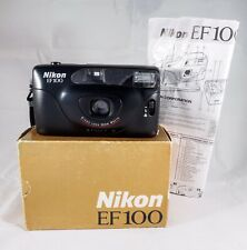 Nikon EF100  35mm Film Camera Point & Shoot Collectable Lomo Retro Memorabilia