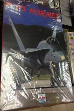 ESCI ERTL F-18 HORNET 1:48 SCALE. NEW and UNUSED MODEL KIT. FREE UK POSTAGE.