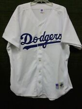 Vin Scully Signed Los Angeles Dodgers MLB Russel Athletic 52 Jersey
