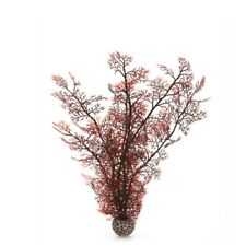 Oase biOrb Sea Fan Crimson Large 39cm Aquarium Fish Tank Decor Plants Ornament