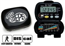 10,000 Steps SW700 Pedometer for Health, Fitness & Sports Performance