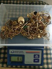 Gold Filled Some Plated Jewelry Pieces Parts for Scrap Some Wear 224+grams!
