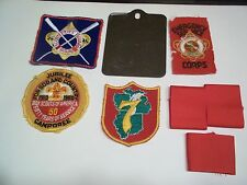 BOY SCOUT MIXED LOT OF 8 PIECES. SEE PICTURES AND LISTING