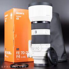 SONY FE 70-200mm F4 G OSS Lens - Full-frame Telephoto Zoom SEL70200G *MINT BOXED