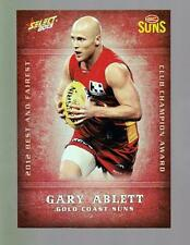 2013 Select Best and Fairest Card - Gary Ablett  BF8
