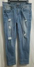Bongo jeans. Women's size 13 32x28. destroyed stone wash whiskered