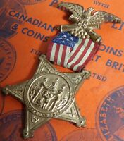 1861- 1866 Grand Army of the Republic Reunion Medal Great Condition MUST SEE!!!