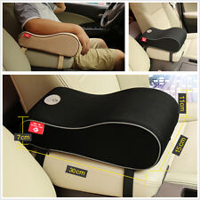 High Quality Black Polyester Car Seat Center Console Armrest Pad Protective Case