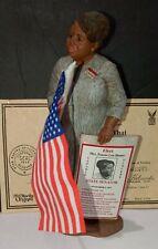 """Vtg """" Fannie Lou Hamer"""" African Americana All Gods Children 9"""" W/Certificate"""