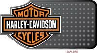 Harley Davidson Rubber Mat Heavy Duty Floor Desk Car Softail Fat Bob Boy V Rod