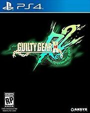 PS4 Guilty Gear Xrd REV 2 NEW Sealed Region FREE Plays on all consoles