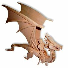 Dragon Rider 3D 3-D Three Dimensional Puzzle 15 inch by Puzzled Inc PZ1516