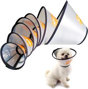 Pet Dog Cat Cone Protective Collar Wound Healing Medical Elizabethan E-collar AU