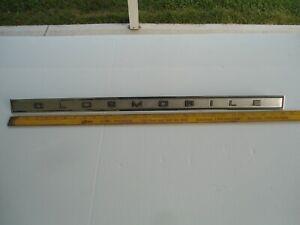 1967 Oldsmobile Vista Cruiser Station Wagon Tailgate Trim Emblem #7674700