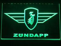 Zundapp Zündapp Motorrad garage vintage LED Neonzeichen Leuchtschild Lampe Neon