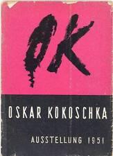 KOKOSCHKA Oskar, Oskar Kokoschka. Aus seinem Schaffen 1907-1950