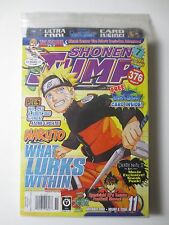 Sealed Naruto Shonen Jump #11 2008 Naruto Anime Manga Bleach w/ promo card PG664