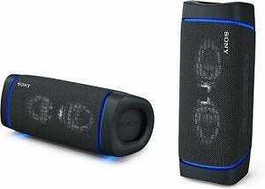 SONY SRS-XB33 Portable Bluetooth Speaker Waterproof Mic Black EXTRA BASS