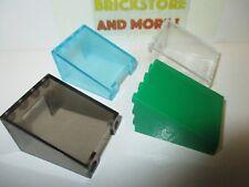 Lego - 1x Windscreen 3x4x4 inverted Mix of 72475 & 4872 - Choose Color