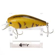 1Pc Bravefisherman 3D Eyes Fat Hard Baits Crankbaits Fishing Lures 15g/80mm