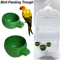 Feeder für Vögel Schale für Papageienfutter Kunststoff Zubehör für Vögel