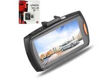 "G30 1080p 2.7"" LCD HD automobile Registratore Videocamera con 16gb Scheda TF UK"