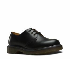 Dr Martens 3 Loch 1461  Black Smooth 11839002 Original Classic Doc