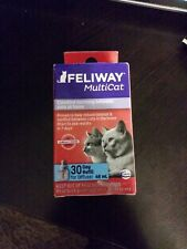 Ceva Animal Health D89420B Feliway MultiCat Refill Diffuser, 48ml #1333