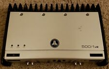 JL Audio Slash 500/1v2 Mono Amplifier  (( PLEASE READ))