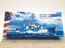 Snow Man 1/700 USS Gearing Class DD-742 Frank Knox DD-831 Gooorich 2 full ship