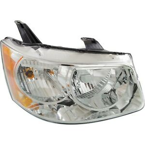 Headlight For 2006 2007 2008 2009 Pontiac Torrent Right With Bulb
