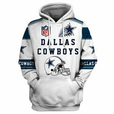 Dallas Cowboys Hoodie Football Hooded Sweatshirt Sports Jacket Fan's Gifts