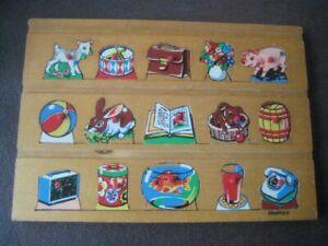 Vintage Children's Simplex Wooden Jigsaw  DMR230920