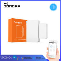 SONOFF SNZB-04 ZigBee Door Window Sensor Smart Home APP Real-Time Monitoring