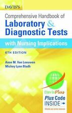Davis's Comprehensive Handbook of Laboratory and Diagnostic Tests with Nursing I