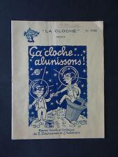 NANTES PROGRAMME REVUE DE LA CLOCHE 1960 HUMOUR BURLESQUE BOUYER MUSIC HALL