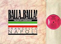"""FRANCESCO NOPOLI balla balla CART 418 uk carrere 1987 12"""" PS EX/EX"""