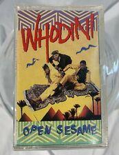 Whodini - Open Sesame - Cassette Tape