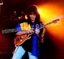Eddie Van Halen JAMMING 1992 HUGE 12x12 ITWM Photogs COA Exclusive 1st X Seen!