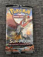 1x Pokemon Sun & Moon Burning Shadows Booster Pack - New & Sealed (Random)
